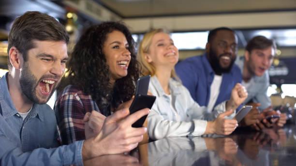 kebahagiaan perjudian online